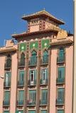 Buildings Malaga Royalty Free Stock Images