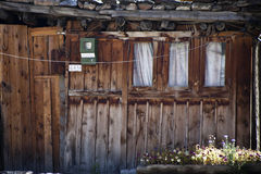 Buildings in Manang Royalty Free Stock Images