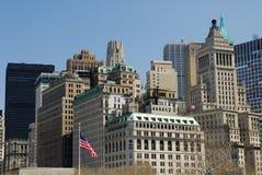 Buildings in Manhattan stock image