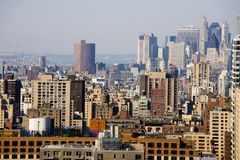 Buildings, Manhattan Royalty Free Stock Photo