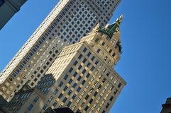 Buildings of Manhattan. Stock Photo