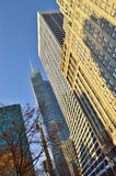 Buildings of Manhattan. Royalty Free Stock Images