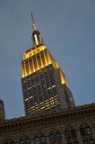 Buildings of Manhattan. Royalty Free Stock Photography