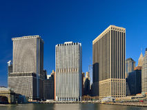 Buildings of Manhattan. Stock Photography