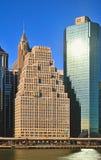 Buildings of Manhattan. Royalty Free Stock Photo
