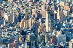 Buildings of Manhattan - New York City skyscrapers Stock Photo