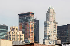 Buildings in Manhattan Stock Photography