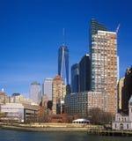 Buildings of Manhattan, New York City. Royalty Free Stock Photos