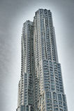 Buildings of Manhattan. New York by Gehry. Royalty Free Stock Photos