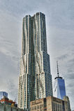 Buildings of Manhattan. New York by Gehry. Stock Photography
