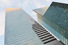 Buildings of Manhattan. Royalty Free Stock Photos