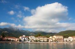 Buildings In Marciana, Elba Island Royalty Free Stock Image
