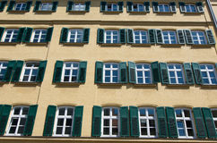 Buildings in Marienplatz Royalty Free Stock Image