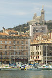 Buildings in Marseilles, France Royalty Free Stock Image