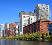 Buildings at Marunouchi area in Tokyo, Japan Stock Images