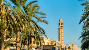 Buildings in the medina of Tozeur, Tunisia. North Africa Stock Photo