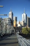 Buildings in Melbourne Royalty Free Stock Photos