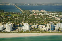 Miami city beach Stock Photo
