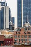 Buildings in Midtown Manhattan Stock Photos