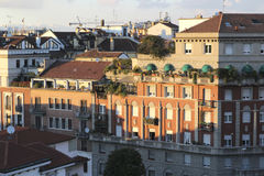 Buildings in Milan Stock Photography