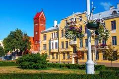 Buildings in Minsk, Belarus. Minsk cityscape stock images