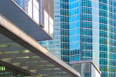 Buildings of modern business center Stock Images