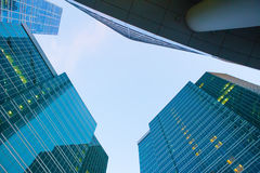 buildings of modern business center Stock Image