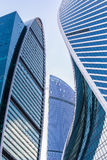 buildings of modern business center Royalty Free Stock Photography