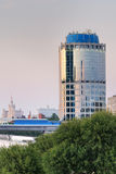 Buildings of modern Moscow Royalty Free Stock Photos