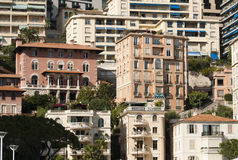 Buildings in Monaco Royalty Free Stock Images