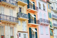 buildings in Monaco Stock Photography