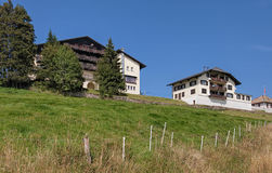 Buildings on Mount Rigi Stock Image