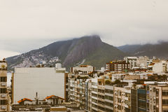 Buildings and mountain in Rio De Janero Stock Image