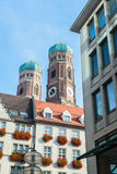 Buildings in munich city center Royalty Free Stock Photography