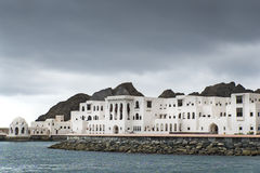 Buildings Muscat Oman Royalty Free Stock Photography