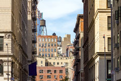 Buildings Near NYU in New York City Royalty Free Stock Photography