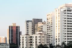 Buildings near Paulista Avenue in Sao Paulo, Brazil Royalty Free Stock Photo