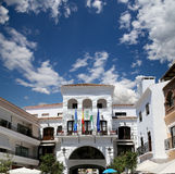 Buildings in Nerja, Andalusia, Spain Royalty Free Stock Image