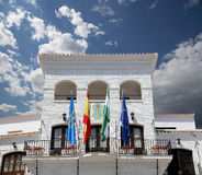 Buildings in Nerja, Andalusia, Spain Royalty Free Stock Photography