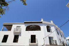 Buildings in Nerja, Andalusia, Spain Royalty Free Stock Photos