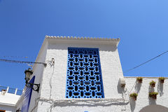 Buildings in Nerja, Andalusia, Spain Stock Photo