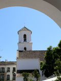 Buildings in Nerja, Andalusia, Spain Royalty Free Stock Photo