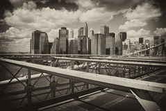 Buildings of New York City Stock Image