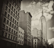 Buildings of New York City Stock Photos