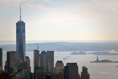 Buildings in New York City stock photos