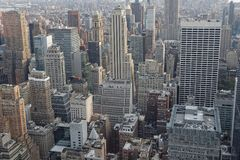 Buildings of New York Royalty Free Stock Images