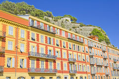 Buildings in Nice, France Royalty Free Stock Image