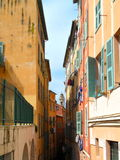 Buildings in Nice, France Royalty Free Stock Photo