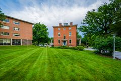 Buildings at the Notre Dame of Maryland University, in Baltimore, Maryland.  royalty free stock photography