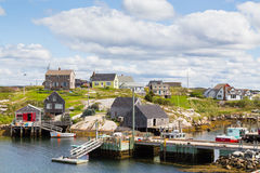 Buildings in Nova Scotia Royalty Free Stock Photos